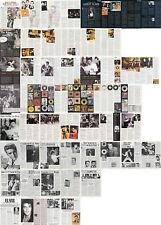 ELVIS PRESLEY : CUTTINGS COLLECTION -8 magazine articles-