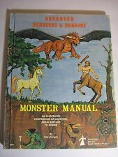 Advanced Dungeons & Dragons Monster Manual 3rd Edition 2009 Red Flyleaf 1978