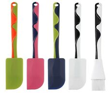 IKEA GUBBRORA Silicon Rubber Spatula 25cm long Green, Blue, Pink, White