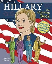 Hillary Clinton : The Coloring Book (2014, Paperback)