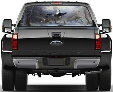 Blackcock & Grouse Painting Rear Window Graphic Decal  Truck Van