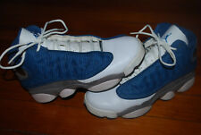 Nike Air Jordan GS XIII 13 Retro French Blue Flint Sneakers (5.5Y) 414574-401