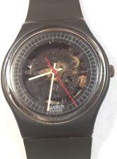 1984 Swatch Watch GA101 High Tech Good Cond