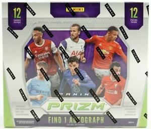 2020-21 Panini Prizm Premier League Soccer 1st Off the Line Hobby Box