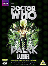 Dr Doctor Who Dalek War Box DVD Planet of the Daleks and Frontier In Space