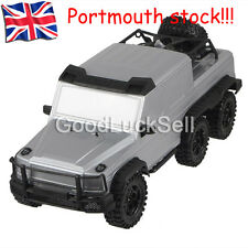 New HG P601 1/10 Scale 2.4G 6WD RC Crawler Truck RTR 20km/h Speed Sliver from UK
