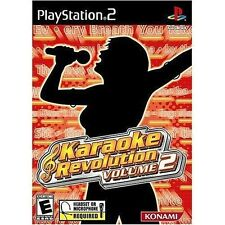 Brand New Sealed! Karaoke Revolution Volume 2 for Playstation 2 Video Game PS2