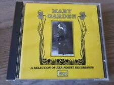MARY GARDEN - A SELECTION OF HER FINEST RECORDINGS - CD MINT
