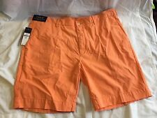 Polo Ralph Lauren Straight Fit Orange Shorts Sz 38