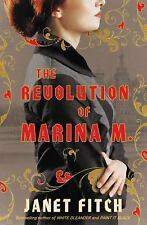 A Novel: The Revolution of Marina M. by Janet Fitch (2017, CD, Unabridged) NEW