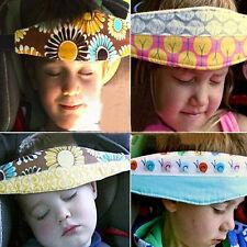 Toddler Safety Car Seat Sleep Aid Head Support Belt Travel Pram Stroller Belt
