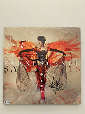 Amy Lee Signed Evanescence Synthesis Vinyl Lp 2 Disc Uk Import Beckett Rare