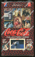 COCA-COLA Collector Series I Trading Cards. Unopened box.