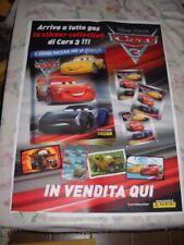 LOCANDINA POSTER MANIFESTO CARS 3 PIXAR DISNEY PANINI ALBUM cm 48,00 x 68,00 cm
