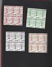 Viet Nam sc#215-18 x6 (1963) Complete MNH