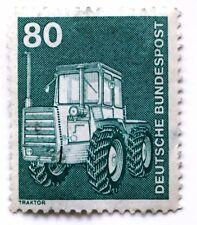 Deutsche Bundespost 80 Pfennig Traktor 1975 (1A3)