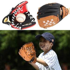 AU Kids/Adults Professional Baseball Glove Softball Mitts Left Hand Training