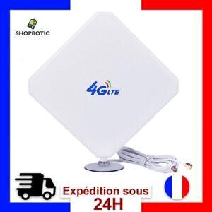 Amplificateur De Signal à Haut Gain 35dBi 3G 4G LTE Antenne Externe SMA Réseau