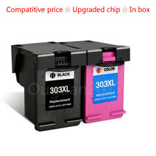 2PK Compatible HP 303 303XL Ink Cartridge for HP ENVY PHOTO 6020 6030 7130 7134