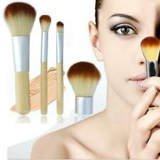 Eco Tools BAMBOO Makeup Brush Set 4 Pcs Make Up Brushes Tools Eyebrow Brushes JD