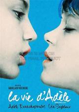 Pubblicità FILM PELLICOLA BLU più calorose COLORI LA VIE d'adele art print poster gz5651