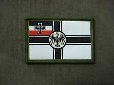 WWI German Flag Woven Patch Sew On
