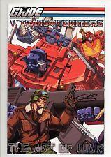 G.I. GI JOE VS THE TRANSFORMERS #1-5 Set! ART OF WAR Variant CONNECT CVRS SIGNED