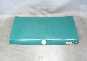 1977-1983 BMW E21 320i Coupe Rear Trunk Deck Boot Lid Jade Green OEM
