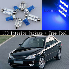 Blue Car Auto Light Interior Package Bulb for FORD MONDEO MK 3 00-07 +TOOL Y2