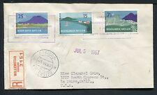 Nederlandse Antillen FDC E2 _  15 M, met adres ; aangetekend