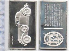 lingot d argent les voitures du Monde ( 1931 Stutz  - 024 )