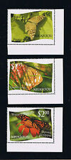 "Niuafo'ou 2012 Butterfly Definitives Single Stamps Set - Intact ""L"" Variety"