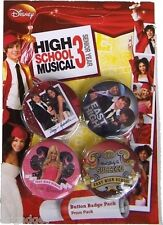 HIGH SCHOOL MUSICAL 3 SPILLA SPILLE UFFICIALI BADGE PACK 80268