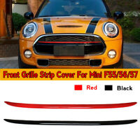 Front Grille Strip Cover Trim For Mini F56 F55 F57 Cooper Cooper S  g e`