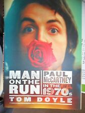 PAUL MCCARTNEY MAN ON THE RUN HARD BACKED BOOK