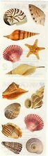 Mrs. Grossman's Stickers - Sea Shells - Photoessence Beach Shells - 4 Strips