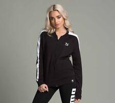 Womens Puma Archive Logo Black Tracktop RRP £44.99