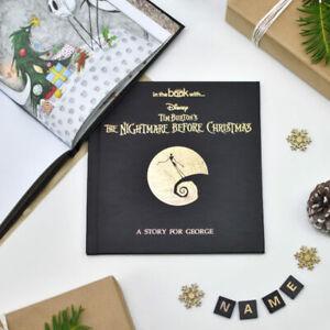 Personalised children's Nightmare Before Christmas book