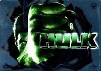 Hulk COFANETTO METALLO DOPPIO DVD NUOVO STEEL BOX METAL