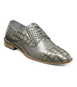 Stacy Adams Talarico Leather Sole Cap Toe Oxford Shoes Gray 25321-020