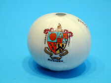 1920's Crested China Medicine Ball - Rushden