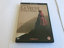 LA VEUVE DE SAINT-PIERRE GENUINE R2 DVD JULIETTE BINOCHE DANIEL AUTEUIL PAL UK
