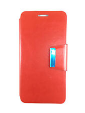COVER CASE SONY XPERIA Z3 COMPACT MINI SUSTAINABLE WITH CLOSURE OF MAGNETIC RED