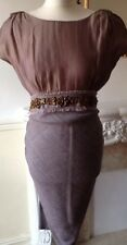 Damsel In A Dress Beautiful Open Back Dress FR38 UK10 NWOT RRP £160 Stunning!