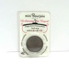 Bourjois mini Le Dressing du Regard Eyeshadow refill for pallets 42 0.05 oz