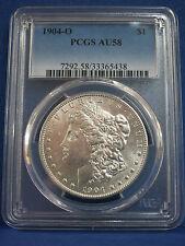 R5: 1904-O Silver Morgan PCGS AU58 VSS ~ Ultra Rare Vam 21.1 ~ DOUBLED PROFILE