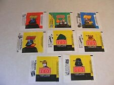 Lot 8 -  Vintage 1977 - 83 Star Wars Wax Pack Wrappers Empire Strikes Back Jedi