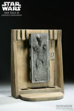 SIDESHOW STAR WARS HAN SOLO IN CARBONITE 1/6th SCALE ENVIRONMENT 1ST ED 2009
