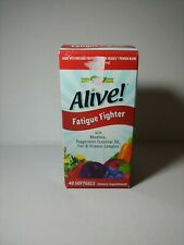 New in box. Nature's Way Alive! Fatigue Fighter (40 Softgels) EXP:01/31/2021