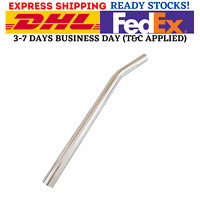 BMX HARO Bicycle SEAT POST Layback Alloy Old School Skyway 25.4mm SILVER Color